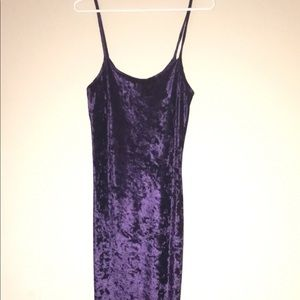 Dresses & Skirts - Vintage bodycon dress in a sexy violet purple.